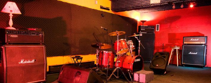 Complete studio room set up
